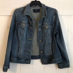 Plus Size Mossimo Denim Jacket Sz2